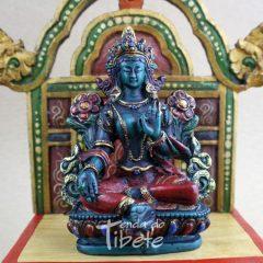Estatua Tara verde