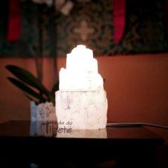 Selenite candeeiro 15 cm